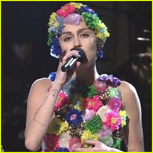 Miley Cyrus Sings Her Way Through Her 'SNL' 2015 Monologue - Watch Here!