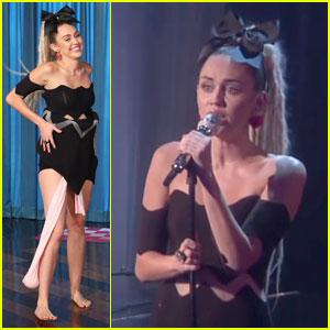 Miley Cyrus Sings 'Hands of Love' on 'Ellen' (Video)