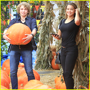 Invisible Sister's Paris Berelc & Will Meyers Go Pumpkin Picking Together