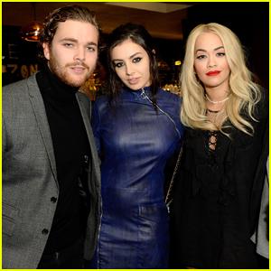 Rita Ora & Charli XCX Reunite At 'Kill Your Friends' Screening!