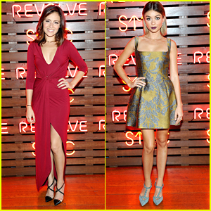 Italia Ricci & Sarah Hyland Raise Funds For SU2C With Revolve Clothing
