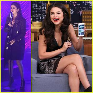 Selena Gomez Talks Believing in Ghosts on 'Fallon Tonight' - Watch Now!