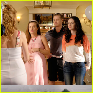 Bay Helps Host Lily's Baby Shower - Exclusive 'Switched at Birth' Stills!