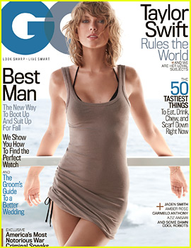 Taylor Swift Rocks Skin Tight Dress for First 'GQ' Cover!