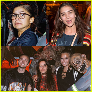 Zendaya & Fifth Harmony's Camila Cabello Get All Ready for Halloween!