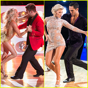 Lindsay Arnold Can't Believe She & Alek Skarlatos Made It To The DWTS' Semi-Finals
