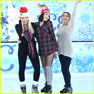 Alli Simpson, Noah Cyrus & Stella Hudgens Kick Off The Holidays With Mudd