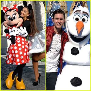 Ariana Grande & Andy Grammer Join Disney Parks' Unforgettable Christmas Celebration