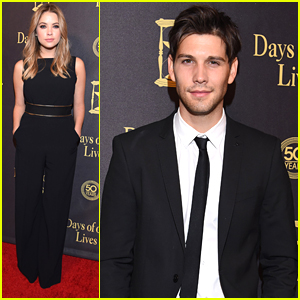 Ashley Benson & Casey Deidrick Celebrate 50 Years of 'Days Of Our Lives'