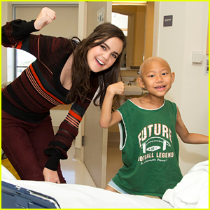 Bailee Madison Treats Kids To 'Northpole: Open For Christmas' Screening at Mattel Children's Hospital UCLA