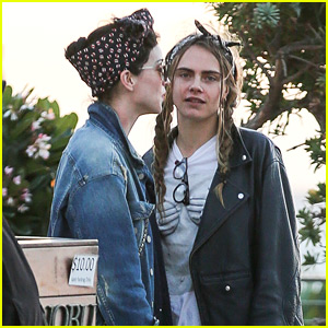Cara Delevingne & Girlfriend St. Vincent Grab Dinner at Nobu