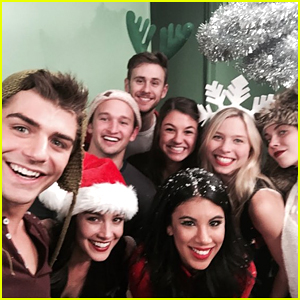 Chrissie Fit Has Christmas-Fied 'Teen Beach 2' Reunion; Will Play Tinkerbell In 'Peter Pan: A Pirates Christmas'