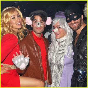 Darren Criss Reunites With 'Glee' Pal Matthew Morrison for Halloween 2015!