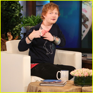 Ed Sheeran Explains That Giant Lion Tattoo on 'The Ellen Show' (Video)