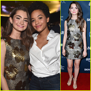 Emily Robinson & Kiersey Clemons Party It Up At 'Transparent's Season Two Premiere Screening