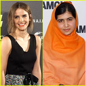 Emma Watson Interviews Malala Yousafzai - Watch The Moving Video Here