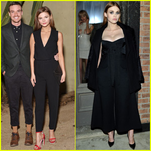 Stefanie Scott & Holland Roden Step Out in Style!