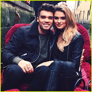 Union J's Josh Cuthbert Engaged To Model Chloe Lloyd - See Her Ring!