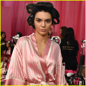 Kendall Jenner Gets Ready Backstage for Victoria's Secret Fashion Show 2015!