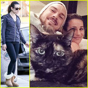 Lea Michele Shares Cute Thanksgiving Family Photo: 'So Thankful For My Loves'