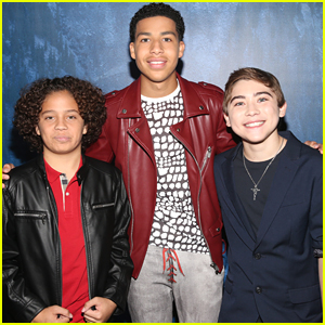 Raymond Ochoa & Marcus Scribner Hit Up Star-Studded 'Good Dinosaur' Premiere