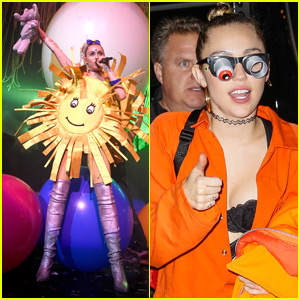 Miley Cyrus Hits NYC for 'Dead Petz' Concert!