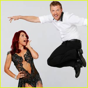 Nick Carter & Sharna Burgess Bring It on 'DWTS' Week 9 - Watch Now!