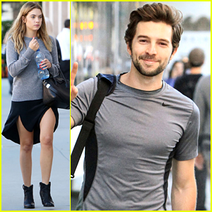 Roberto Aguire Hits The Gym After 'Pretty Little Liars' Casting News