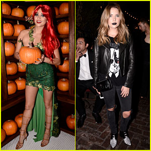 Shay Mitchell & Ashley Benson Make JJ's Halloween Party More 'Pretty'