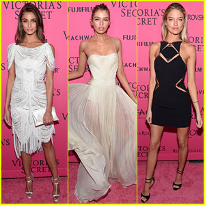 Taylor Hill & Stella Maxwell Celebrate First VS Fashion Show as Angels!
