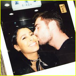 Zac Efron Gives Sami Miro a Kiss in Japan!