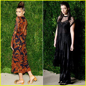 Zendaya & Lorde Are Eye-Catching At CFDA/Vogue Fashion Fund Awards!