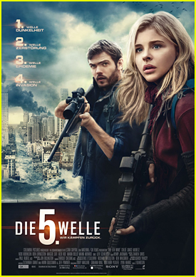 Alex Roe Featured On German Poster For 'The 5th Wave'