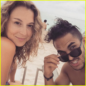 Alexa PenaVega Shoots Down Pregnancy Rumors
