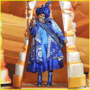 Amber Riley Stars As Addaperle In 'The Wiz Live' Tonight!