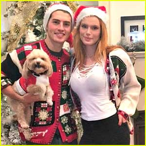 Bella Thorne & Gregg Sulkin Spend First Christmas Together