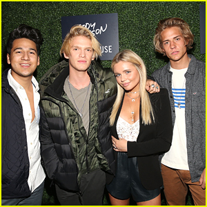 Alli Simpson Joins Brother Cody For Hollister's Holiday Carnival with Coast House