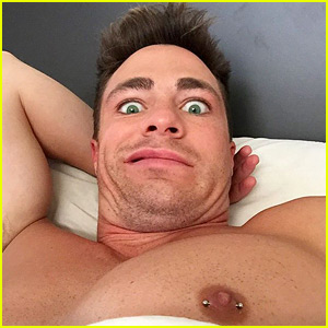 Arrow's Colton Haynes Got His Nipple Pierced!