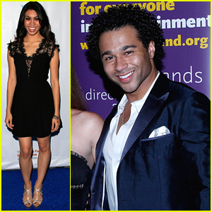 Corbin Bleu Honors Parents David & Martha At Looking Ahead Awards 2015