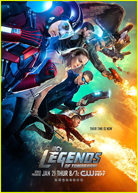 The CW Debuts New Poster & Trailer for 'DC's Legends Of Tomorrow' - Watch Now!