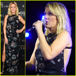 Ellie Goulding Sings Through Sickness in Miami