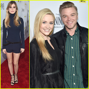 Brett Davern & Greer Grammer Share 'Shannara Chronicles' Screening Reaction