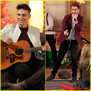 Andy Grammer & Jacob Whitesides Kick Off The Holidays On Radio Disney's Family Holiday Special
