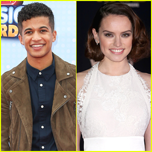 Jordan Fisher Is Crushing on Star Wars' Daisy Ridley Hard