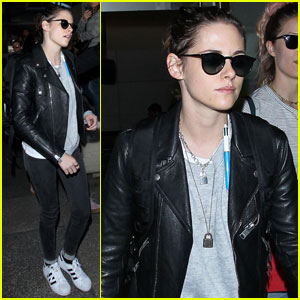 Kristen Stewart Heads Home for the Holidays From Overseas