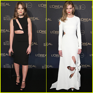 Kristina Bazan & Karlie Kloss Honor The Women of Worth With L'Oreal