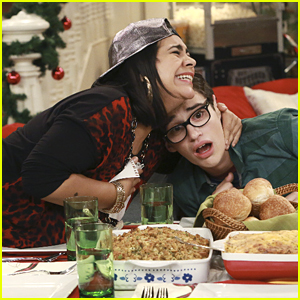 Joey Sort Of Gifts Willow With A Lifetime Of Hugs for Christmas on 'Liv & Maddie'