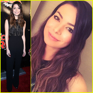Miranda Cosgrove Attends 'School of Rock' Broadway Opening!