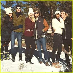 Ross Lynch Spends Christmas With Courtney Eaton in Colorado