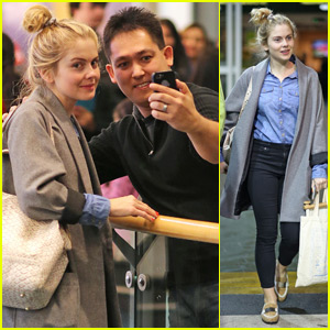 Rose McIver Loves Kristen Bell & 'Veronica Mars'!